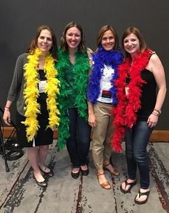 2018 TRO Conference Ambassador Meet & Greet -Lisa Gordon, Rhiannon Buffet, R/TRO, Sara Richardson-Brown, R/TRO, Ashley Palmer, R/TRO