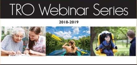 TRO Webinar Series 2018-2019