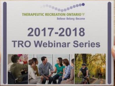 2017-2018 TRO Webinar Series
