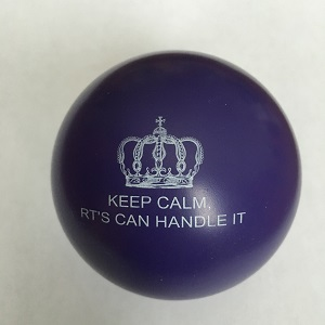 KEEP CALM RTS CAN HANDLE IT stress ball