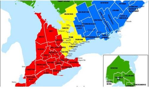 TRO Regional Ambassador Map